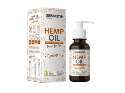 Organic Hemp Oil and Turmeric