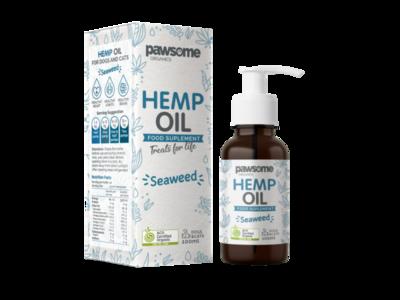 Organic Hemp Oil and Seaweed
