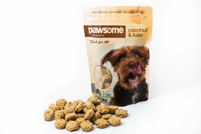 Coconut and Kale Treats