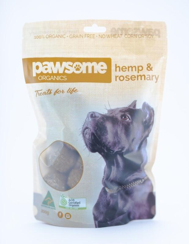 Organic Hemp And Rosemary Dog Treats (Grain Free)