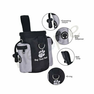 Pet Treat Pouch and Accessory Holder