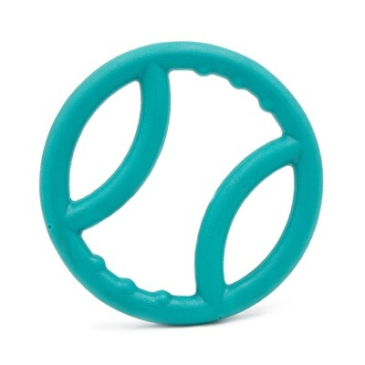 Zippy Squeaker Ring Tug Toy - Teal