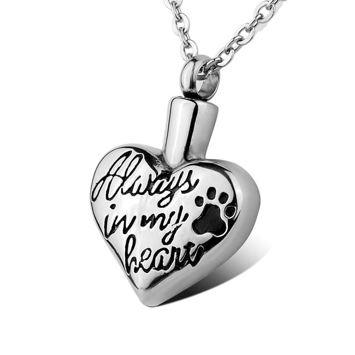 "Pet Cremation Pendant ""Lily Collection"""