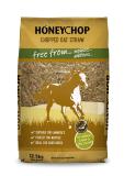 Honey chop chopped oat straw