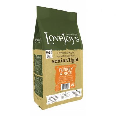 LOVEJOY SENIOR/LIGHT TURKEY 12kg