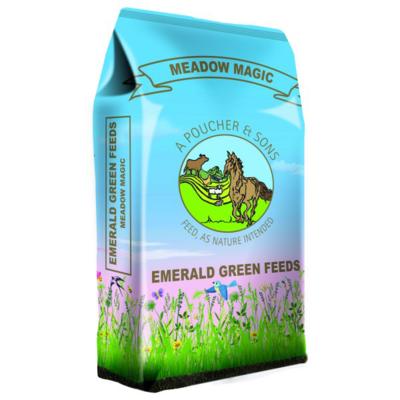 Emerald Green Meadow Magic