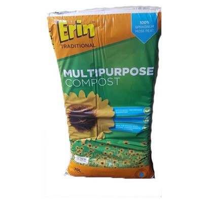 ERIN MULTIPURPOSE COMPOST 70LITRE