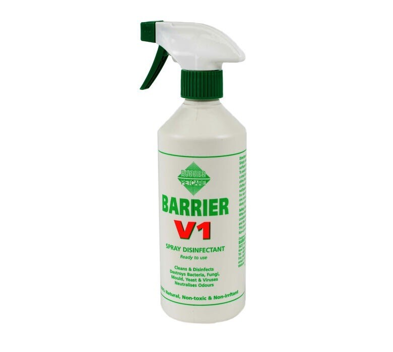 BARRIER V1 SPRAY DISINFECTANT 500ML