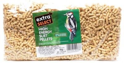 EXTRA SELECT HIGH ENERGY SUET PELLETS INSECT 550g