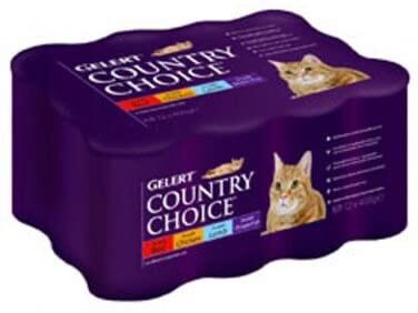 GELERT COUNTRY CHOICE CAT 12 TINS