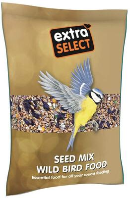 EXTRA SELECT SEED MIX WILD BIRD FOOD 1KG