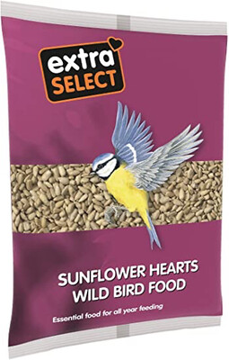 EXTRA SELECT SUNFLOWER HEARTS 2KG