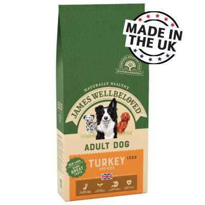 JW Dog Adult Turkey & Rice 10kg