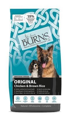 Burns Original With Chicken 15 Kilo