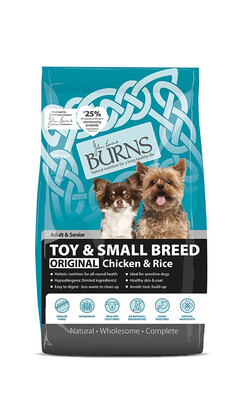 BURNS TOY&SMALL BREED