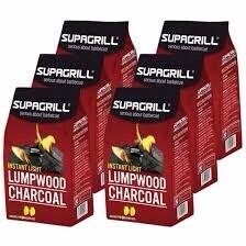 Lump wood Charcoal 8 Kilo