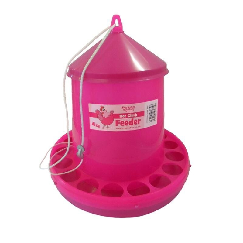 2 Kilo Hot Chick Feeder