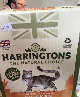 Harrington Senior 7+ Chicken 800gm