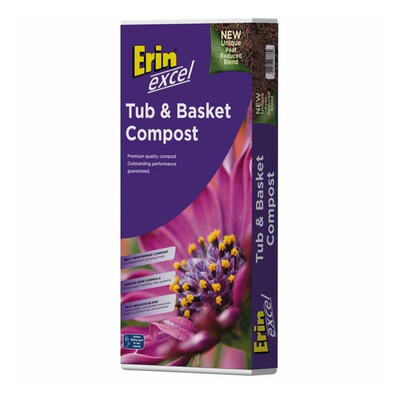Erin Tub And Basket Compost 50litre