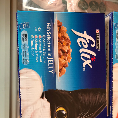 Felix Fish Selection In Jelly 12 Pack