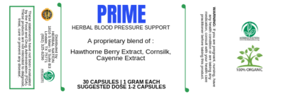 PRIME Herbal Blood Pressure Support