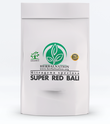SUPER RED BALI Mitragyna speciosa