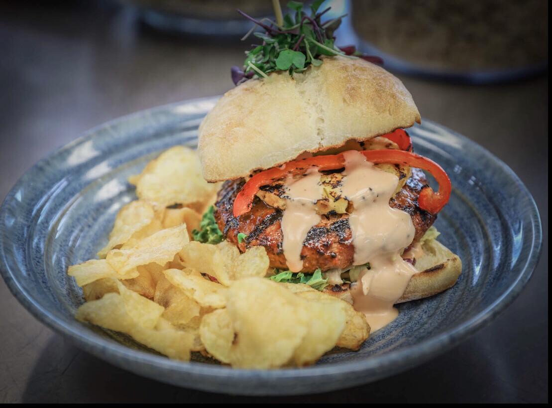 Teriyaki Turkey Burger W/a  Bun