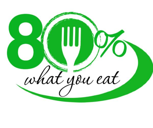 80 Percent What You Eat