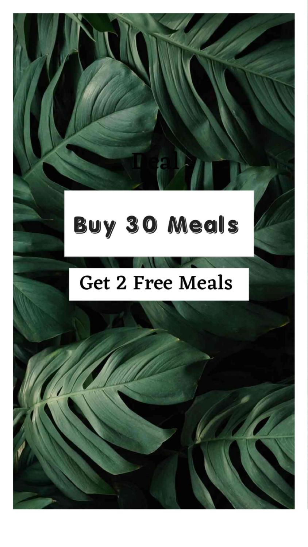 Buy 30 Get 2 Free