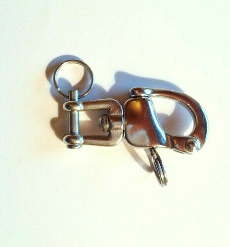 Quick Release Snap Shackle - XSmall w/Locking Pin