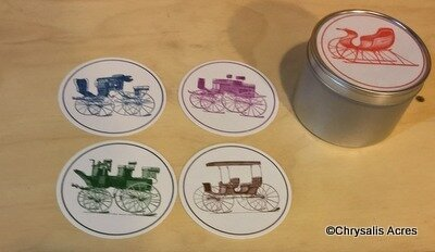 Coaster set - Carriages