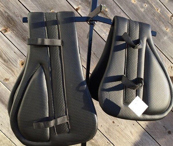 Harness Pad - Waffle- Marathon Shaft Protection Pad (Dog Bone)