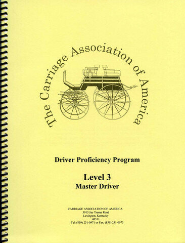 CAA Driver Proficiency Program - Level 3 Master Driver
