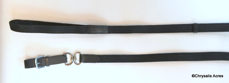 Lunge Line with Swivel and Leather