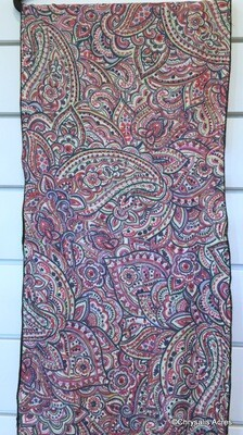 Scarf - Purple Paisley