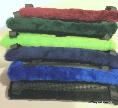 Harness Pad - Fake Fur- Saddle
