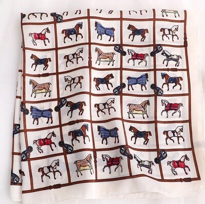 Scarf - Horse Blankets