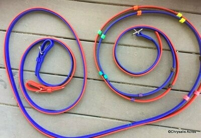Driving Reins - Custom Multi Colored