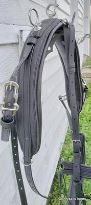 Fully Padded Biothane Saddle