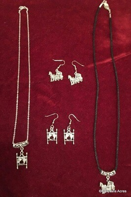 Handmade Jewelry - Set of Necklace & Earrings