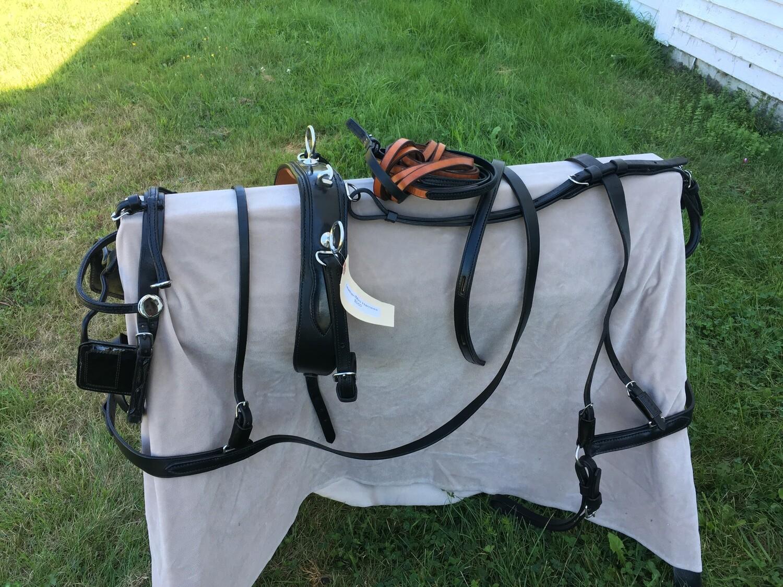 Miniature Horse Leather Harness
