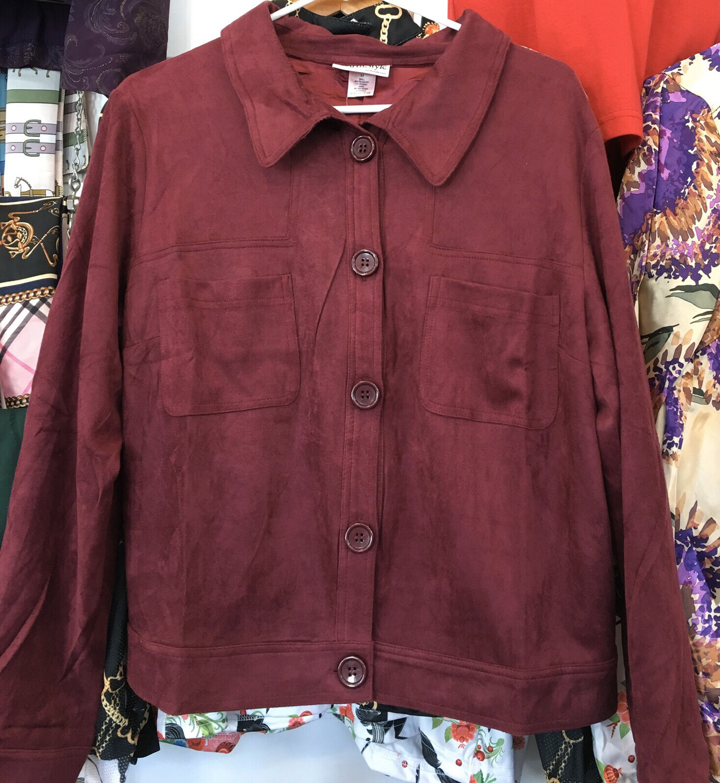 Burgundy Turnout Jacket