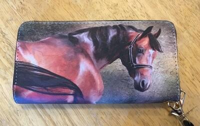 Bay Horse Wristlet Wallet