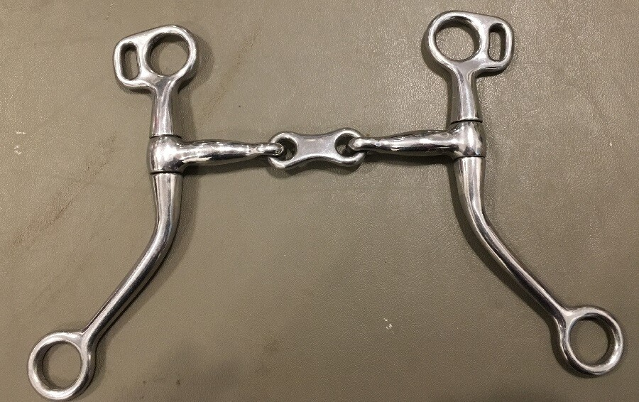 French Link Tom Thumb Bit 5""