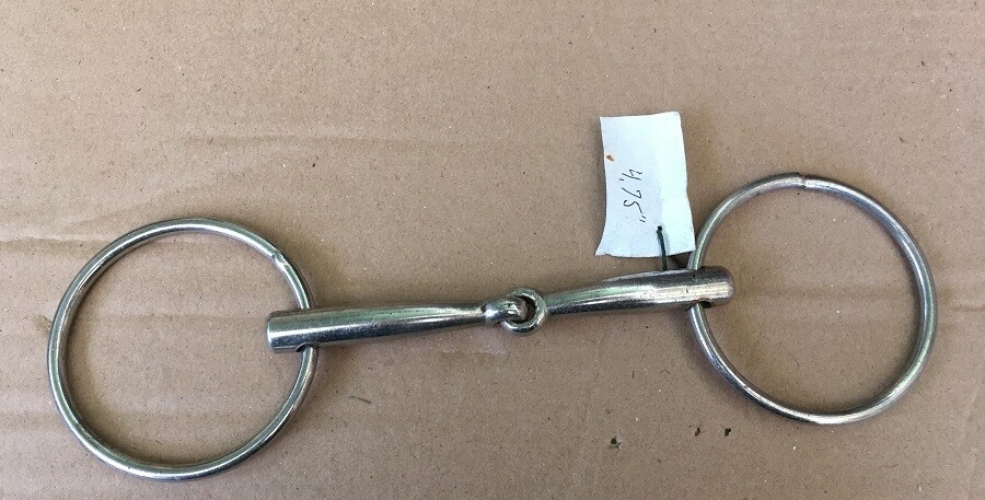 Loose Ring Snaffle 4.75""