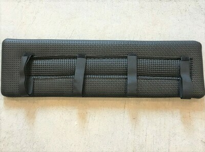 Harness Pad - Black Waffle- Saddle