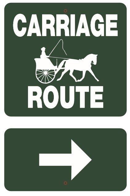 Driving Farm and Trail Signs 12