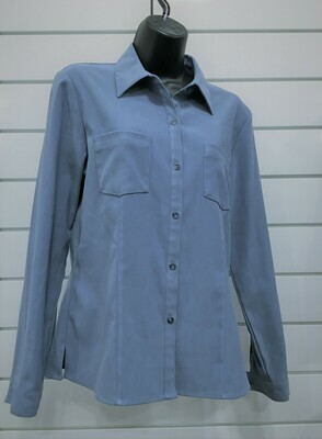 Blouse - Wedgewood Blue Sz 6