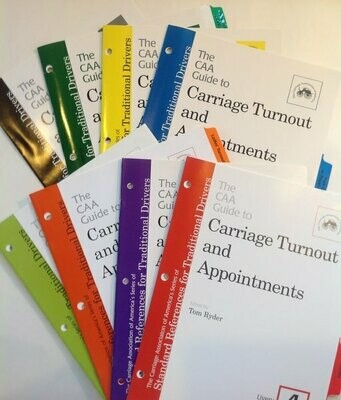 CAA  Guide to Carriage Turnout and Appointments