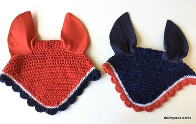 Patriotic Ear Bonnet - Pony Size